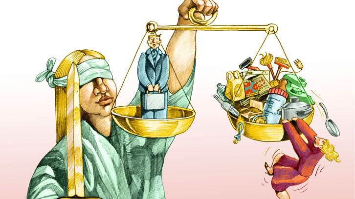 Brecha de género en la justicia